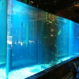 Panneaux de piscine en acrylique épais, types de fenêtres en verre plexi