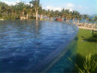 Panneau acrylique personnalisé pour piscine de plongée