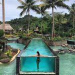 Panneaux acryliques personnalisés pour piscines