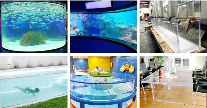 acrylic swimming pool panels
