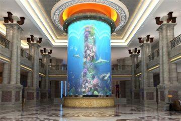 aquarium acrylique grand cylindre