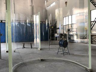 panneaux de feuilles de verre grandview aquarium acrylique incurvé de haute qualité grandview