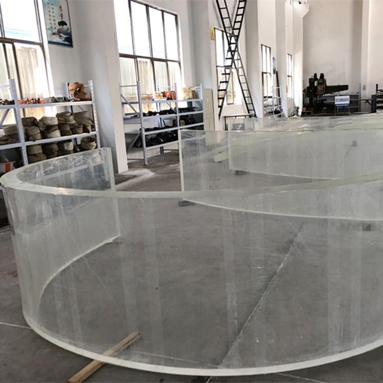 feuille de plastique incurvée acrylique miroir pour aquariums d'aquariums