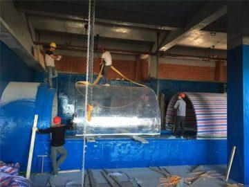 plastiques aquariums acrylique Aquarium tunnel de projet