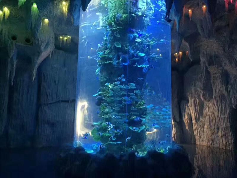 panneaux acryliques transparents pour grand aquarium, aquariums